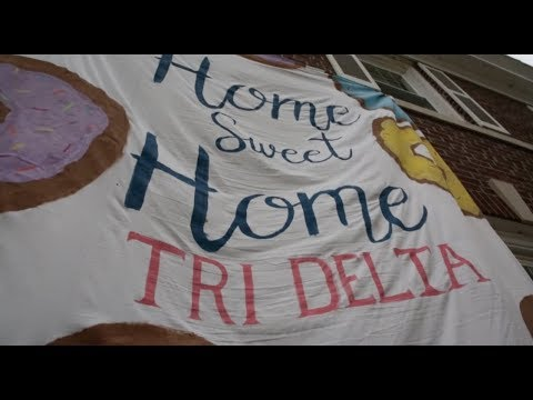 Delta Delta Delta Bid Day 2017 - Iowa State University
