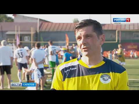 Ветераны мини-футбола провели товарищеский матч в Хвалынске