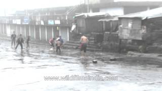 Cherrapunji - Rain and soccer - perfect combo for happiness