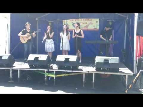 QVM Melbourne Malaysian Festival 2014 Rojak Singing Performance