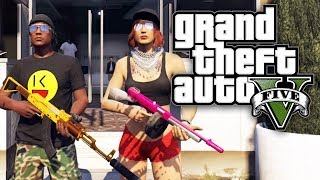 GTA 5 THUG LIFE #42 (Part 2) - GIRL GONE GANGSTA! (GTA V Online)