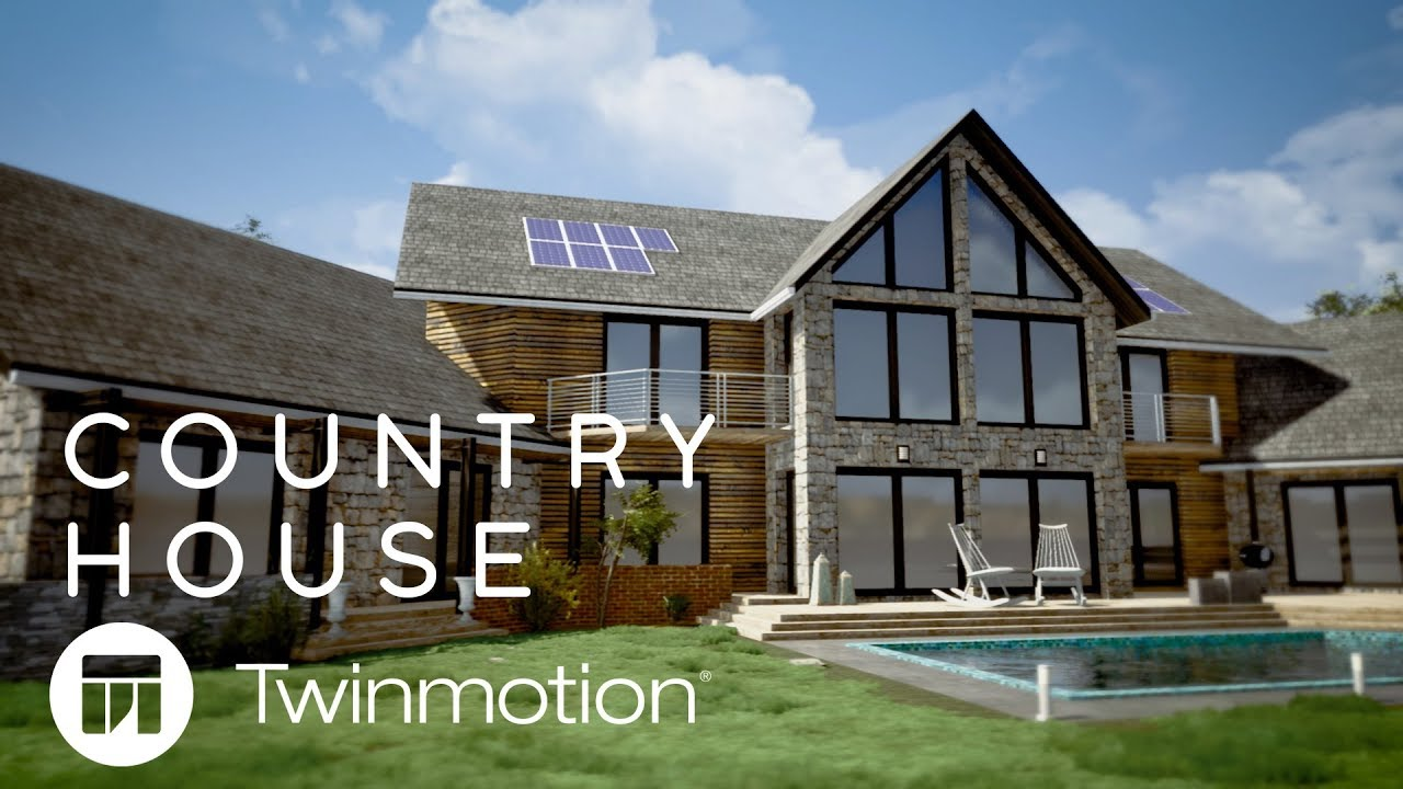 Twinmotion 2019 // Country House
