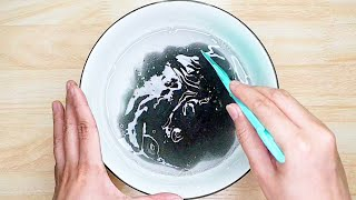 How To Fix OVERACṪIVATED SLIME | How To Deactivate FAIL Slime | How To Fix Not Stretchy Slime ★ASMR★