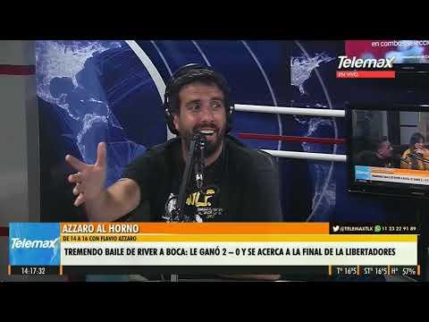 #Superclásico | Flavio Azzaro Opino Sobre El River-Boca #AzzaroAlHorno