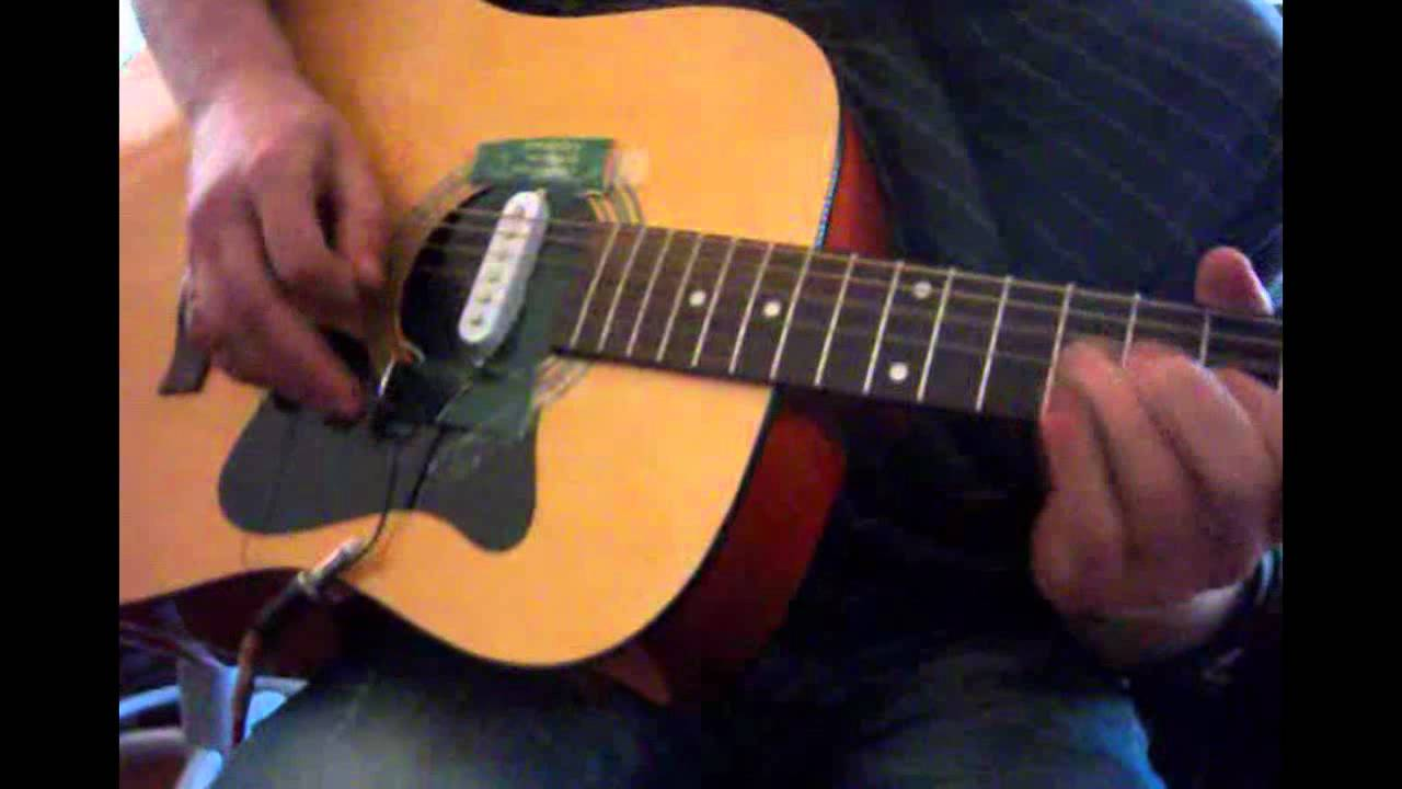 stratocaster pickup on acoustic guitar youtube. Black Bedroom Furniture Sets. Home Design Ideas