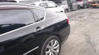 Видео-тест автомобиля Nissan Fuga (GY50-401058, Vk45de, 2005г)