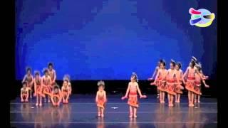 聖三一堂小學 - 初級組舞蹈比賽(黎家女娃) (2012年2