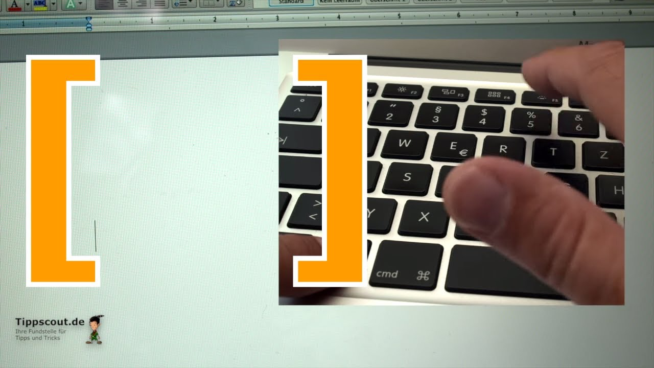 Eckige Klammer Tastatur