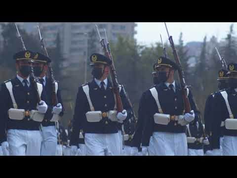 Casi siete mil miembros de las FF.AA., Carabineros y la PDI dieron  vida a la Parada Militar 2021