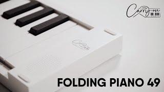 CARRY-ON Blackstar® Teclado Plegable FP49 49 Teclas 128 Sonidos MIDI USB video