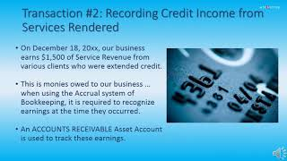 Recording transactions in general journal and relating to entries quickbooks part 2