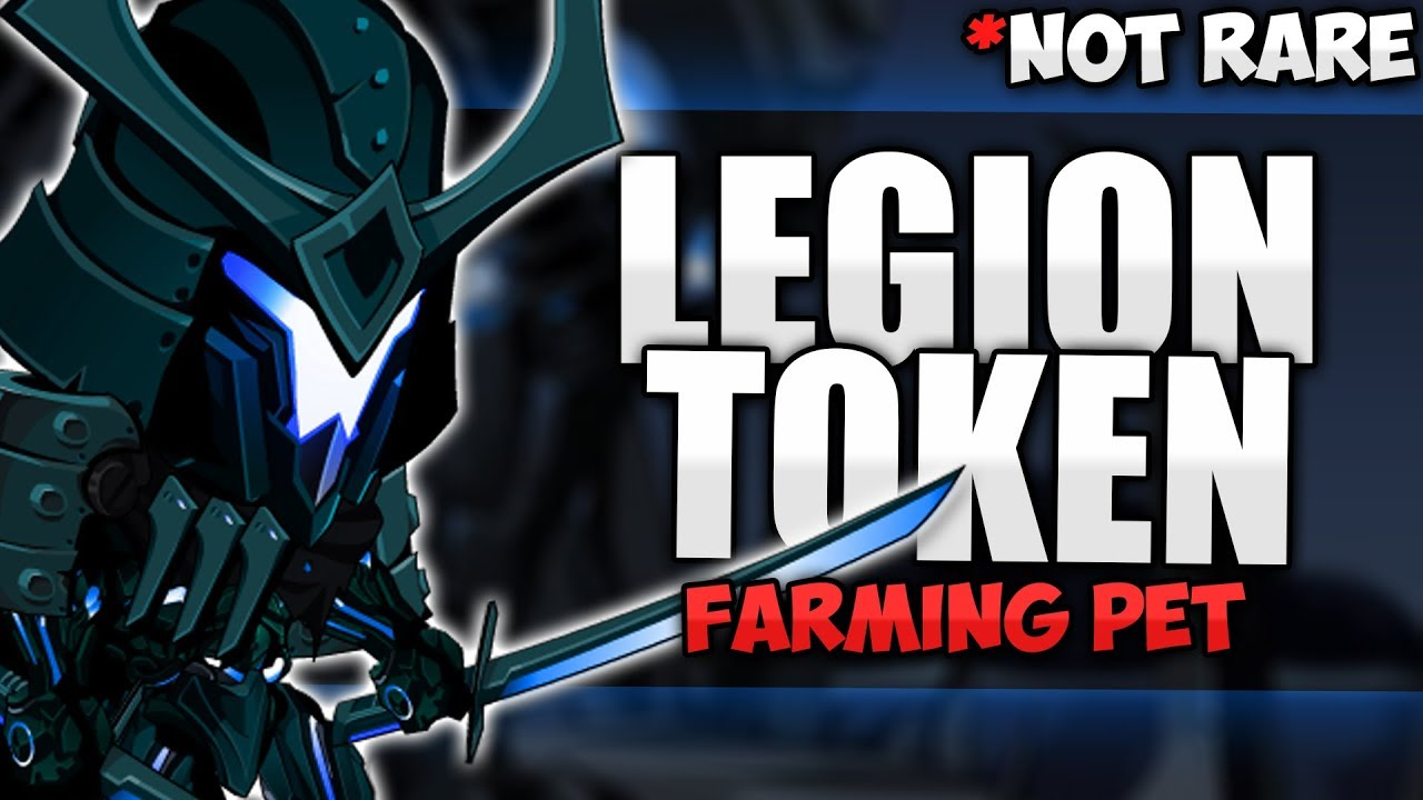 Free Legion Token Farming Pet Really Fast Legion Tokens Aqw