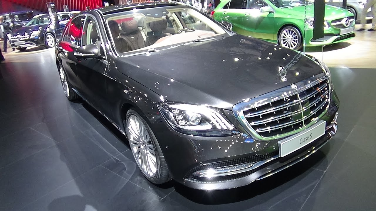 2018 Mercedes Benz S 600 Exterior And Interior Automobile Barcelona 2017