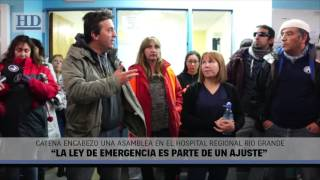"Video: Catena: ""La Ley de Emergencia es parte de un ajuste"""