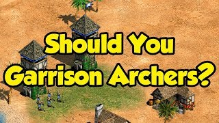 Should You Garrison Archers In Towers?