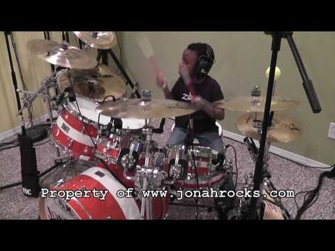 Def Leppard - Let it Go, 6 Year Old Drummer, Jonah Rocks
