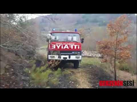 Yakakent Hacivat Orman Yangını
