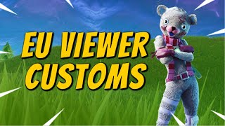 (EU) 🔴CUSTOM MATCHMAKING🔴SOLOS/DUOS/TRIOS/SQUADS/SCRIMS FORTNITE LIVE PS4/XBOX/PC/MOBILE/SWITCH