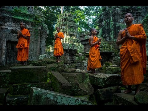 "432 hz DNA Healing/Chakra Cleansing Meditation Music ""Temple of Zen"""