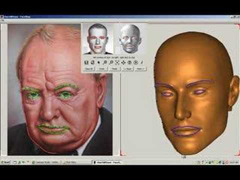 Create 3D Face from a Single Photo