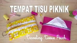 Cara membuat tempat tisu yang mudah, gampang dan simpel. cocok untuk di bawa piknik
