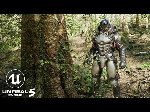 Download Unreal Engine 5 RTX 3090 Realistic Forest with Lumen