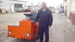 Электротележка ЕТ-2012  для перевозки длинномерных грузов