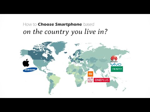 The Geography of Smartphones