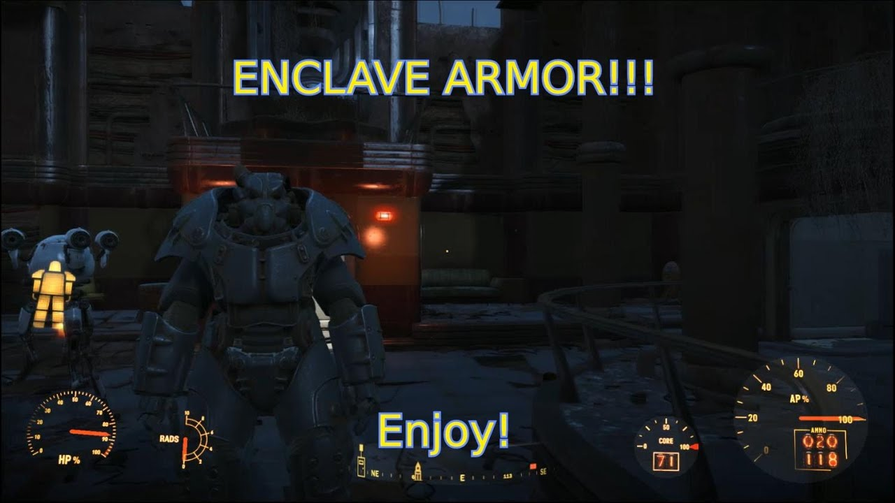 Just Black Inside Building Fallout