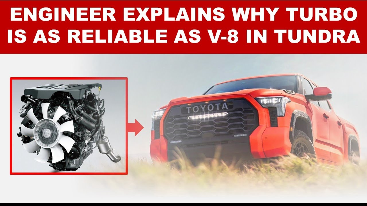 ENGINEER EXPLAINS WHY TURBO ENGINE IN 2022 TUNDRA WILL LAST ONE MILLION MILES - as reliable as V8