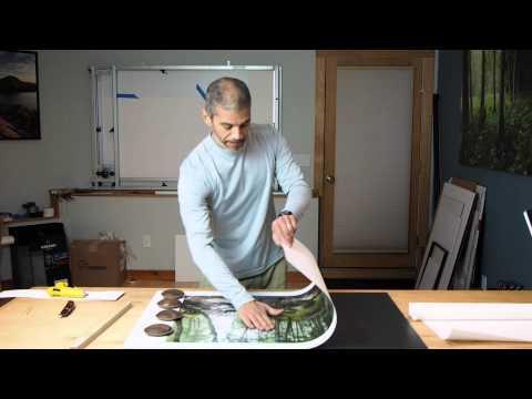 Mounting Prints onto Gatorfoam Board