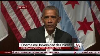 Barack Obama: Qué pasó en mi ausencia?