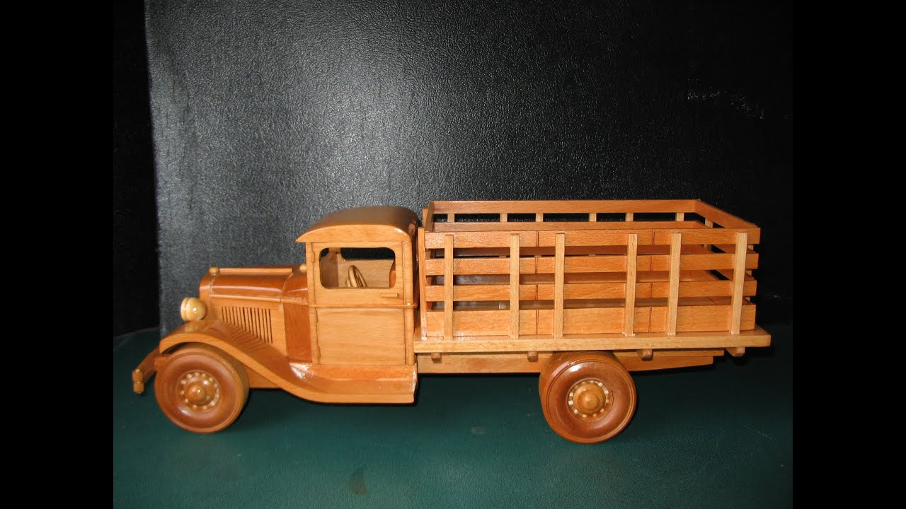 1929 Ford Stake Bed Truck Model - YouTube