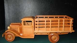 1929 Ford Stake Bed Truck Model