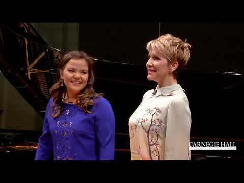 """Joyce DiDonato Master Class January 2016: Mozart's """"Voi che sapete"""" from Le nozze di Figaro"""