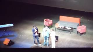 Г.Харламов,Т.Батрутдинов и Д.Карибидис концерт в Таллинне 06.06.2015