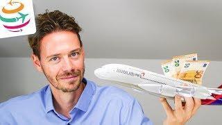 First Class für 1.200€ & Alaska Meilen 50% Bonus kaufen | GlobalTraveler.TV