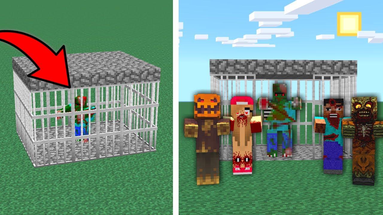 ZOMBİ ÇETESİ, ZOMBİ KRALI KURTARIYOR! 😱 - Minecraft