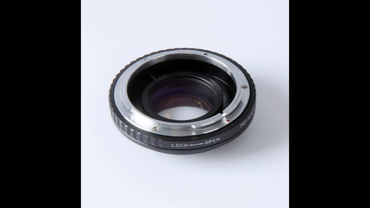 Focal Reducer (Pixco, Roxsen) - Canon FD to Micro Four Thirds adapter  review