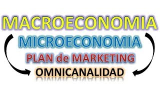 Inserción de la Macroeconomia en un Plan de Marketing digital