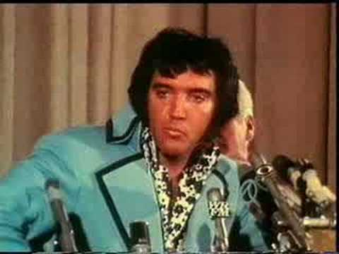 Elvis Press interview - The King shows his sense of humor