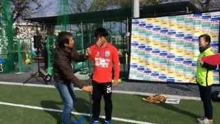 MIOびわこ滋賀2015年ファン感謝デー吉田実成都選手選手宣誓