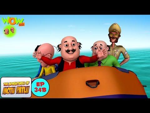 Lost Island Motu Patlu In Hindi With English Spanish French