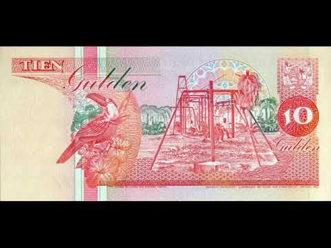 Paper money of Suriname is the Suriname Dollar - banknotes - banknotes