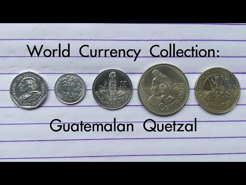 World Currency Collection: Guatemalan Quetzal 🇬🇹