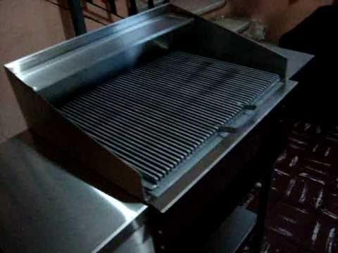 Asador de acero inoxidable youtube - Laminas de acero inoxidable para cocinas ...