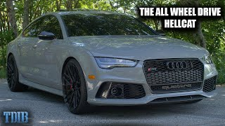 Audi RS7 Review! Better Than a Hellcat?