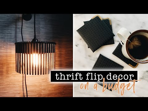 THRIFT FLIP Home Decor On A BUDGET // Come Thrift With Me