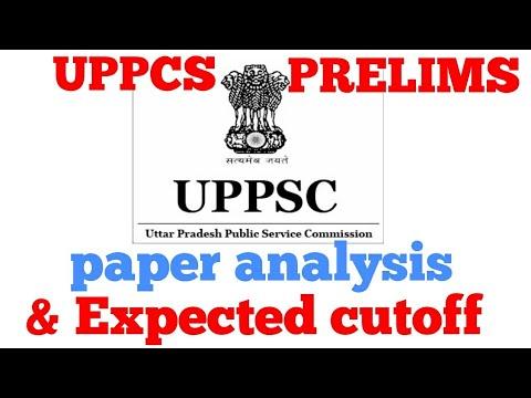 Uppcs Prelims Paper Analysis and Expected cutoff
