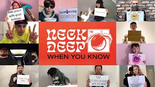 Смотреть клип Neck Deep - When You Know